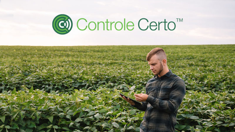 Solução digital Controle Certo™ proporciona manejo ágil e correto de pragas e doenças