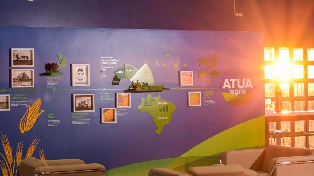 Imagem interior da Atua Agro, que oferece uma nova experiência ao produtor rural