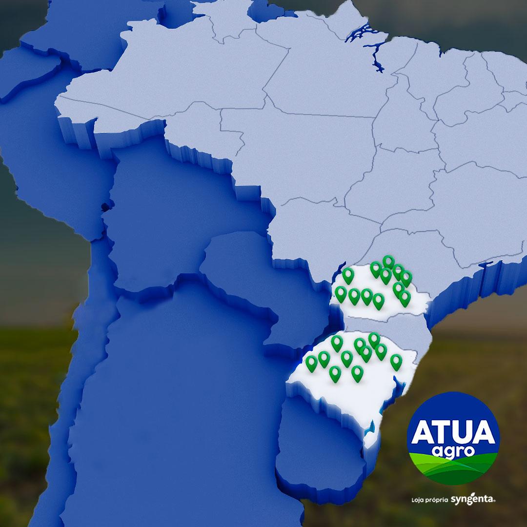 Atua Agro anuncia novas lojas para 2020 no Paraná e Rio Grande do Sul